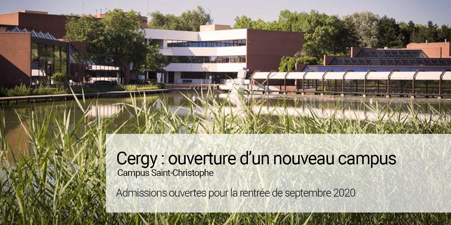 Ouverture campus Cergy