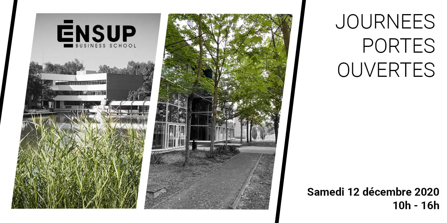 ENSUP Business School JPO Décembre